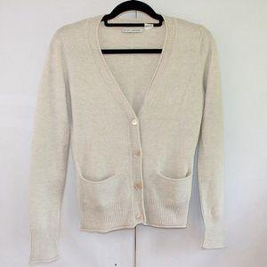 Autumn Cashmere Size Small Pure Cashmere Cardigan